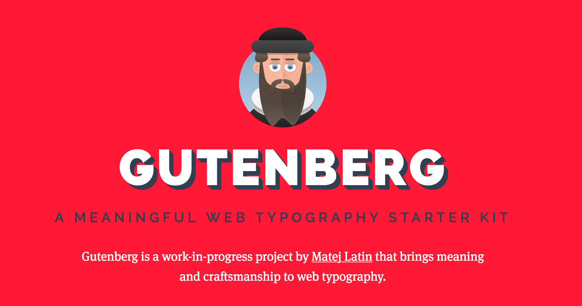 Gutemberg website