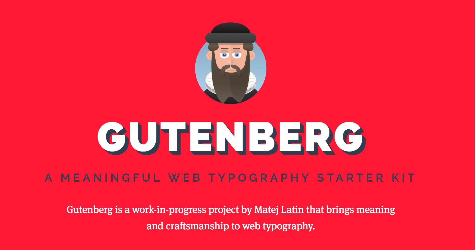 Gutemberg website
